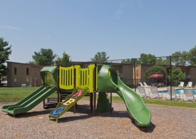 Playground at apartment in South Jersey with Jungle Gym