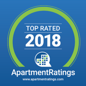 Top Rated 2018 for apartmentratings.com